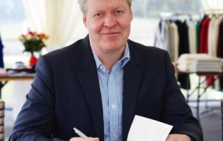 Charles Spencer book signing