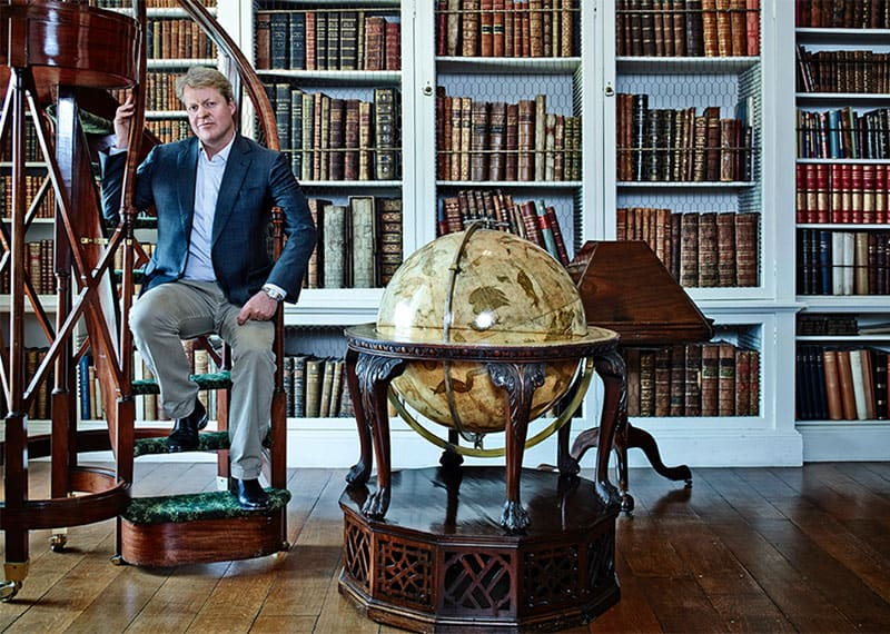 Charles-Spencer-in-the-Althorp-Library